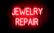 Spellbrite Ultra-bright Jewelry Repair Sign Neon Look, Led Performance