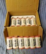 11 Eleven - Rolls Of Unopened Presidential Dollar Coin Roll Of 25 Each