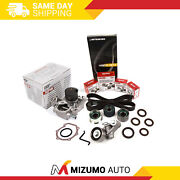 Timing Belt Kit Npw Water Pump Fit 06-12 Subaru Impreza Forester Outback Ej253