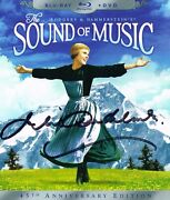 Julie Andrews The Sound Of Music Signed Blu-ray Dvd Coa