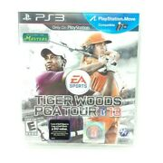 Brand New Sealed Tiger Woods Pga Tour 13 Sony Playstation 3, 2012 Ps3