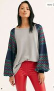 Nwt 98 Free People We The Free Rainbow Dreams Swit Southwestern Sea Combo Xs
