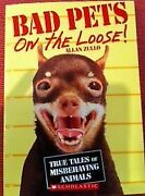 Bad Pets On The Loose By Allan Zullo Paperback Rl 3.5