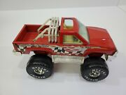 Vintage Nylint Off Road Monster Truck 4x4 - Red - Pressed Steel Truck