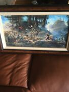 Tom Dubois The Invitation Canvas - Signed And Numbered Framed Noahand039s Ark 758/950