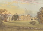 Morris Hornby Castle, Near Bedale, Yorkshire. The House Of The Duke Of Leeds. A