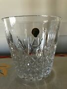 Waterford Crystal Exquisite Patterns Of The Sea 7.25 Ice Bucket New In Box