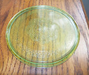 Green Georgian Federal 5 Inch Hot Plate Very Hard To Find