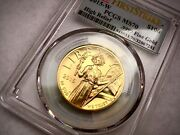 2015-w Pcgs Ms70 American Liberty High Relief First Strike Gold Coin Beautiful