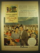 1941 Pullman Railroad Cars Ad - Pullman Makes A Vacation Fun From The Start