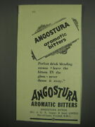 1949 Angostura Aromatic Bitters Ad - Perfect Drink Blending