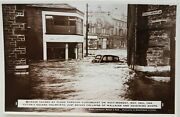 Holmfirth. Damage Caused By Flood Whit-monday May 29th 1944. Wallaces And Shops.