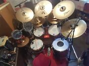 Truth Drum Kit With 10 Zildjian Cymbals And Dw Frame