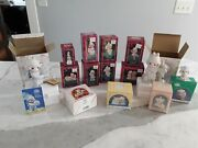 Lot Of Precious Moments Christmas Ornaments And More Lot Of 14 Niob