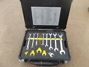 Msa Breathing Air Compressor Tool Kit , Snap On Torque Wrenches And Pelican Case