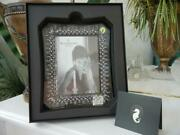 Nib Waterford Diamond Cut Crystal Lismore 5 X 7 Picture Frame Made In Ireland