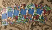 Lot Of 6 New Unopened Vintage Epic Mythical Dragon Fire Fantasy Wrapping Paper