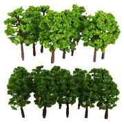 Lot 40 Green Model Trees 1150 N Scale Architectural Building Park Garden Diy