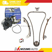Timing Chain Kit Water Pump Fit 12-16 Lexus Es300h Toyota Camry Hybrid 2.5 2arfe