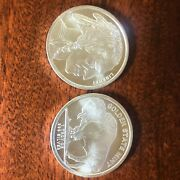 Capsule Of 20- 1 Oz Silver Uncirculated Golden State Mint Buffalo Round 999 1 Tr