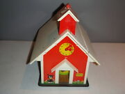 Fisher Price Little People Play Family 923 School House Figures Vintage