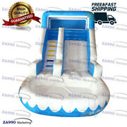 26x13ft Commercial Inflatable Bounce Water Slide And Pool With Air Blower