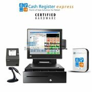Pcamerica Pos Cash Register For Connivence Stores, Liquors/retail Stores 4gb/ssd