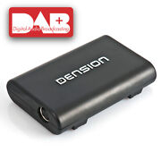 Dension Dab+ / Dmb-a Tuner With Afs+text For Gateway 500s+pro Bt Dbi-9901