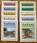 Lot Of 10 Gas Engine Tractor Collector Magazines 1991 Ag 4h Homeschool Farming