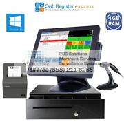 Pcamerica Cre All-in-one Retail Liquor Store Pos System 4gb/ssd 5yr Warranty