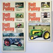 Lot Of 5 Belt Pulley Tractor Collector Magazines 1999 Engines Motors Ag 4-h Farm