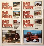 Lot Of 6 Belt Pulley Tractor Collector Magazines 2002 Engines Motors Ag 4-h Farm