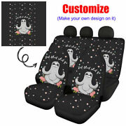 Custom Design Car Seat Covers Front And Rear Cushion Set For Auto Full Interior