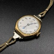 1923 Omega Gold Filled Manual Wind Ladies Wrist Watch Working For Repair