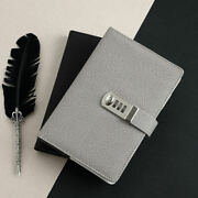 Locking Leather Journal For Boys And Girls A5 Size 260 Pages Diary Book Notepad