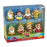 New Disney Fisher Price Little People Snow White And The Seven Dwarfs Figures