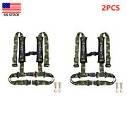 Racing 4 Point Rastp Universal Vehicle Auto Car Safety Seat Belt Buckle Harness