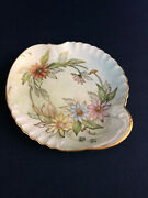 Antique Victorian Paint At Home Small Porcelain Dresser Tray 1880s 1890s Grh