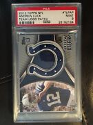 Psa 9 Mint 2012 Topps Colts Nfl Team Logo Patch Andrew Luck Rc Rookie Tlpap