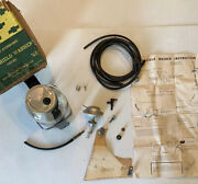 Nos 1951 1952 1953 Chevrolet Truck Gm Accessory Windshield Washer Kit 986527