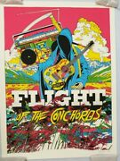 Flight Of The Conchords - Santa Barbara Tyler Stout Mondo Sold Out Poster - S/n