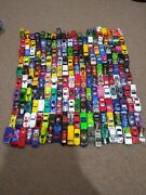 Lot Of 199 Matchbox And Hotwheels Diecast Toy Cars, See Description.