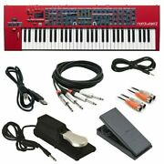 Nord Wave 2 61-key Performance Synthesizer Free Cables And Pedal