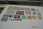 Nice Lot Of Us Mnh Stamps Some Plate Blocks And Odd Values About 145 Face