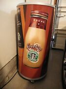 Rare Vintage Starbucks Frappuccino Store Diaplay Cooler
