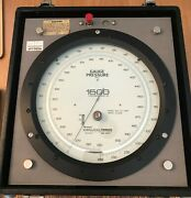 Wallace And Tiernan High Precision Pressure Indicator Gauge Model 62a-2a-0500
