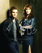 Amanda Tapping And Robin Dunne - Sanctuary Genuine Signed Autographs