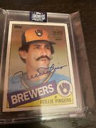 2020 Topps Archives Signature Series Rollie Fingers/50 Auto