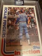 2020 Topps Archives Signature Series Rollie Fingers/40 Auto