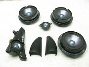 06-09 Mercedes W251 R350 R500 Front And Rear Left And Right Door Speakers Set 07152